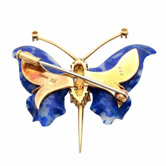 """Brooch """"Butterfly"""" - photo 4"""