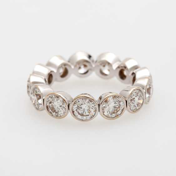 Eternity ring set m. 12 Diam.-Brilliant - photo 1