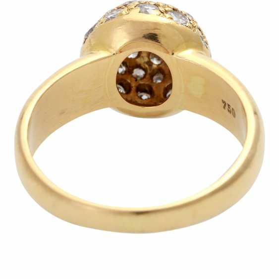 Ladies ring with a spherical ring-head - photo 4