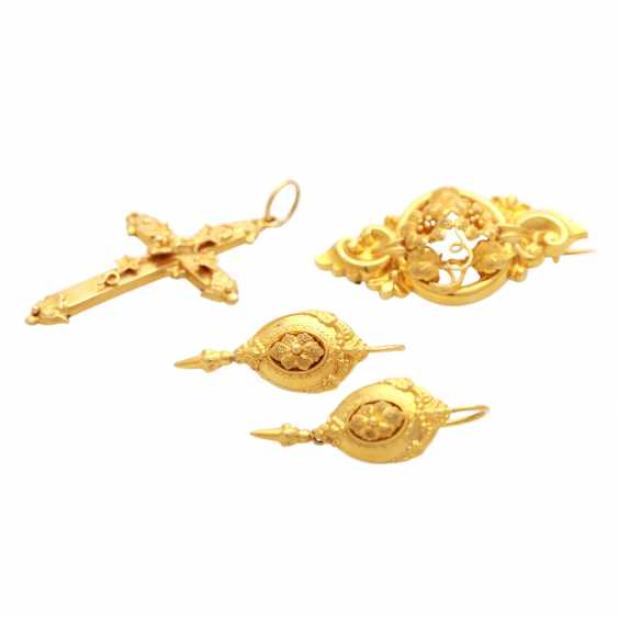 Jewelry mixed lot, 3 piece - photo 1