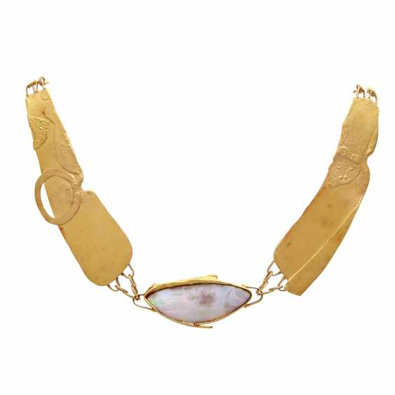 Designer necklace with Opal - photo 1