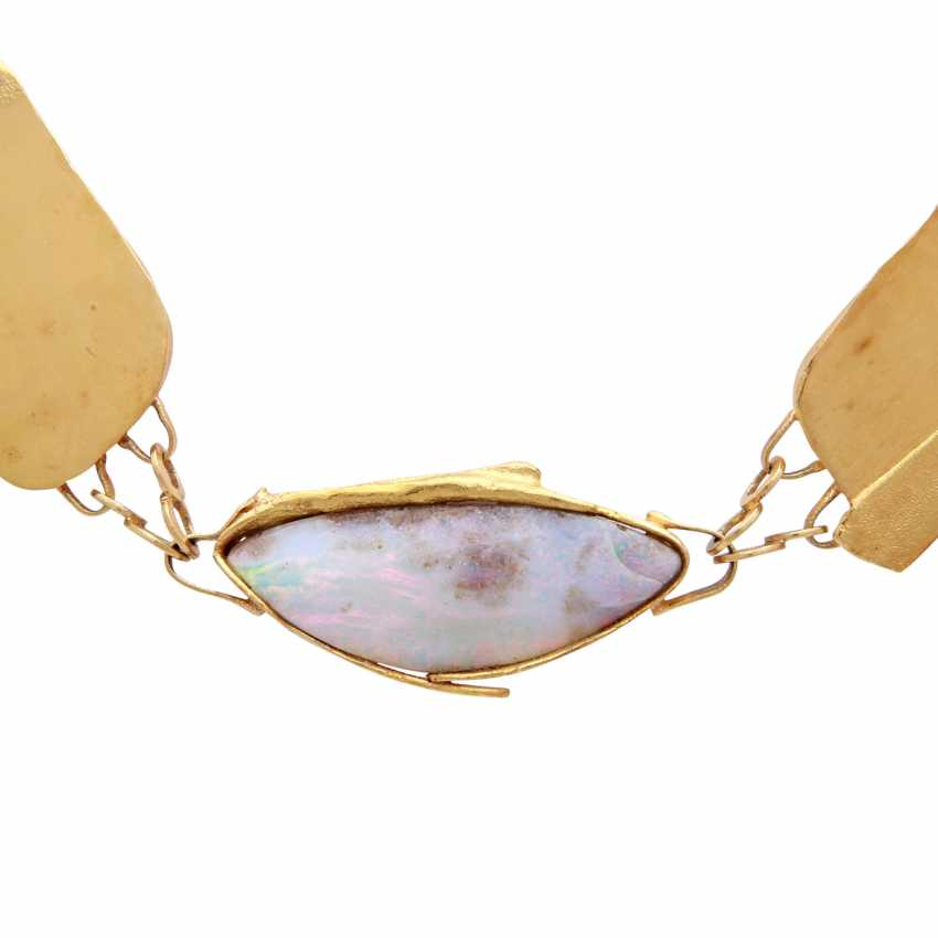 Designer necklace with Opal - photo 2