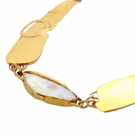 Designer necklace with Opal - photo 4
