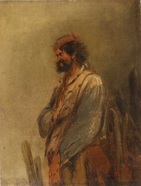 BUSCH, WILHELM (Attrib.: 1832-1908) portrait of a warrior - photo 2