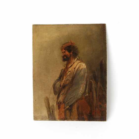 BUSCH, WILHELM (Attrib.: 1832-1908) portrait of a warrior - photo 1