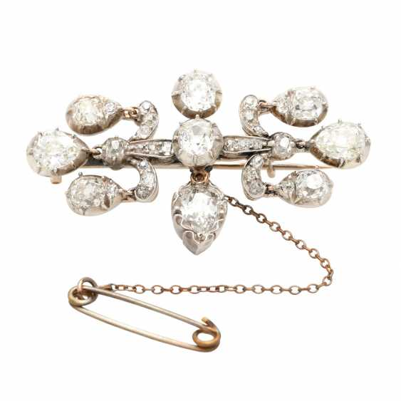 Diamond brooch, probably from the family of Johann Elert Bode - photo 1