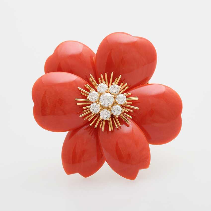 """VAN CLEEF & ARPELS Brosche """"Christmas Rose"""" - photo 1"""