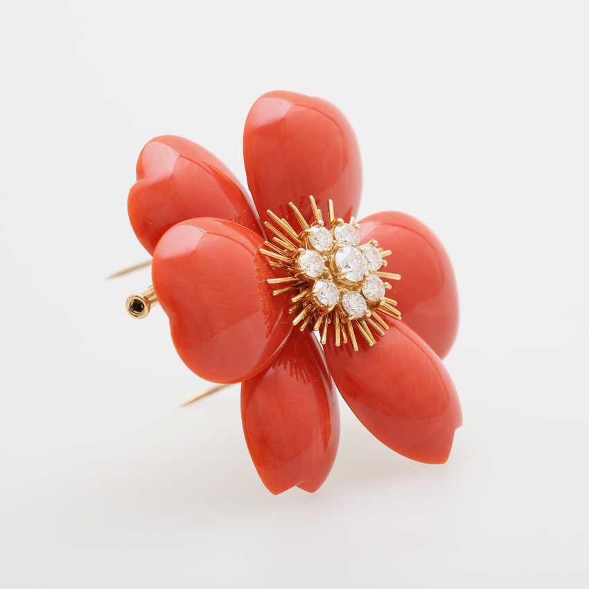 """VAN CLEEF & ARPELS Brosche """"Christmas Rose"""" - photo 2"""