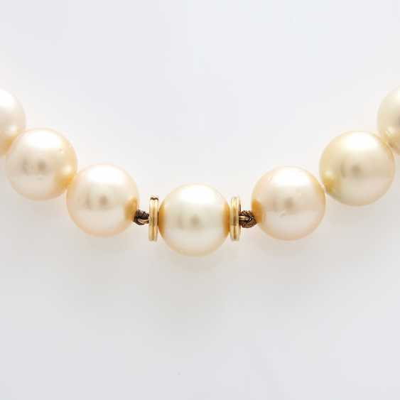 Necklace of South sea pearls in history - photo 2