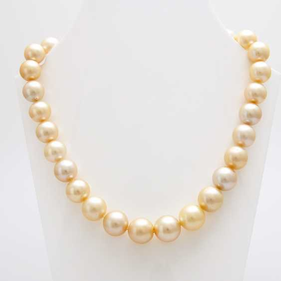 Necklace of South sea pearls in history - photo 4