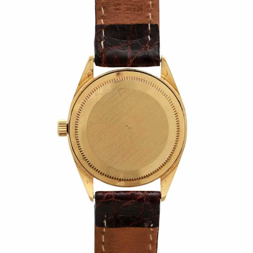 Ladies watch in 18K Gold with Diam.-Bezel & Diam.-Dial. - photo 2