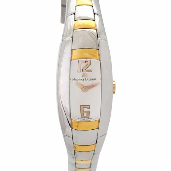 MAURICE LACROIX Intuition ladies watch, Ref. IN3012. Stainless steel/gold plated. - photo 1