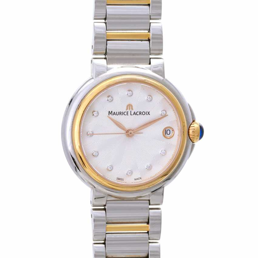 MAURICE LACROIX ladies watch Fiaba data, Ref. FA-1004. Stainless steel/gold plated. - photo 1