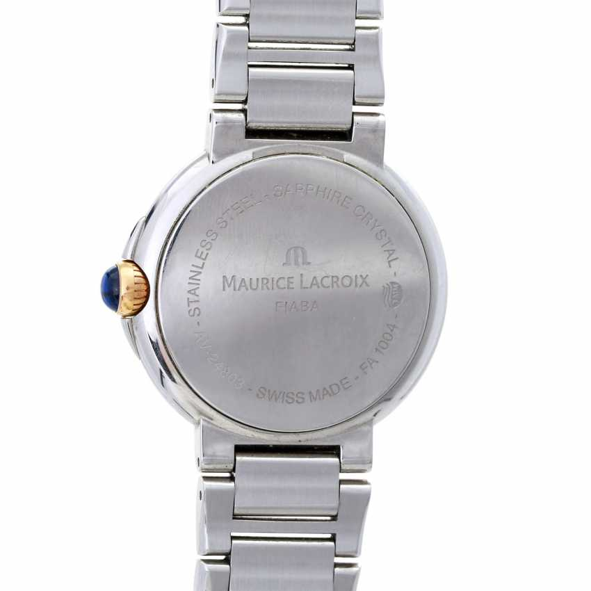 MAURICE LACROIX ladies watch Fiaba data, Ref. FA-1004. Stainless steel/gold plated. - photo 2