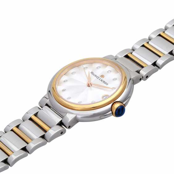 MAURICE LACROIX ladies watch Fiaba data, Ref. FA-1004. Stainless steel/gold plated. - photo 4