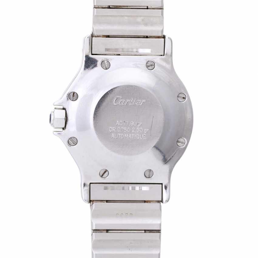 CARTIER Santos women's watch, CA. 1980/90s. Stainless steel/Gold 18K. - photo 2