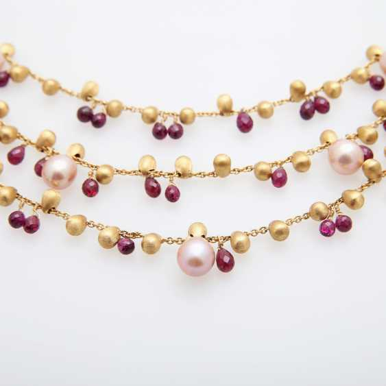 MARCO BICEGO necklace with cultured pearls & Rodolithen - photo 3