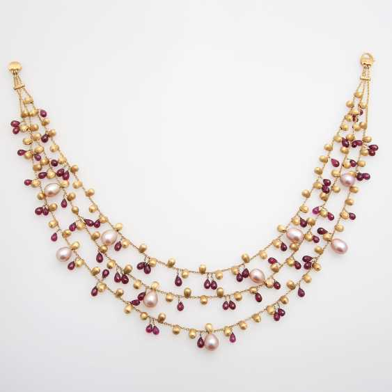 MARCO BICEGO necklace with cultured pearls & Rodolithen - photo 1