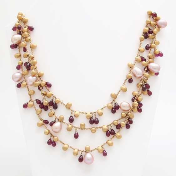 MARCO BICEGO necklace with cultured pearls & Rodolithen - photo 2