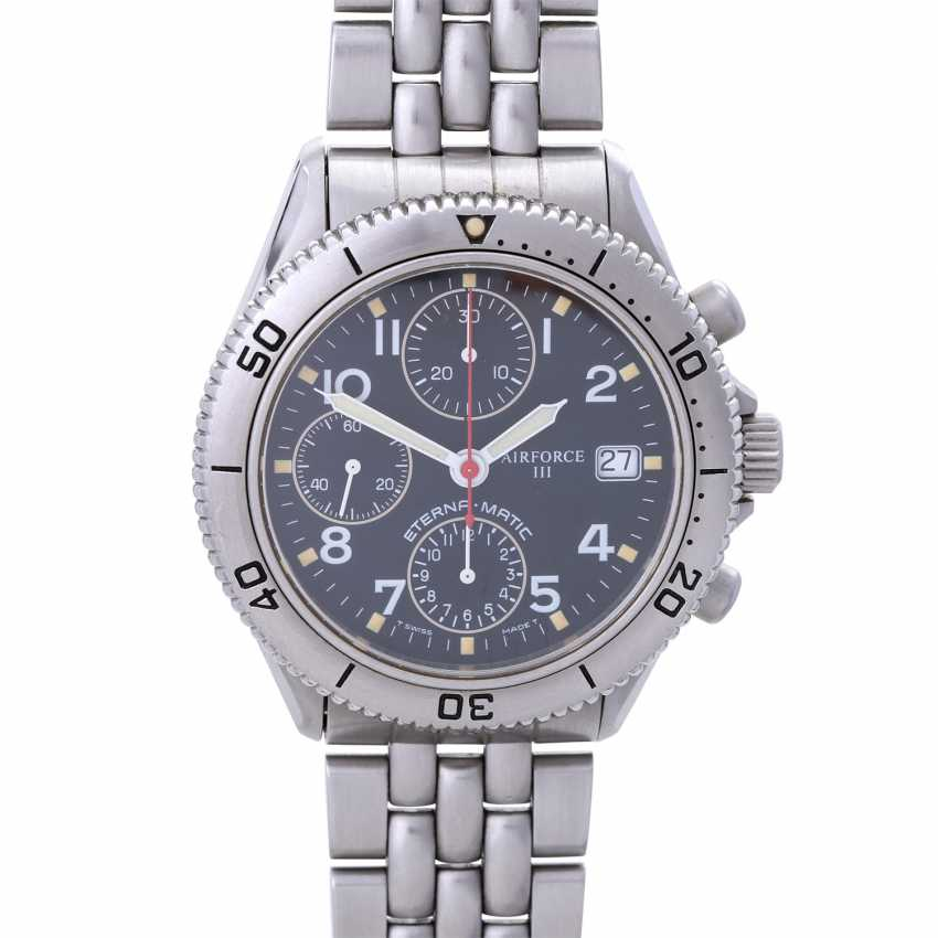 ETERNA Airforce III Pulsometer Chronograph, Ref. 8408-41. - photo 1