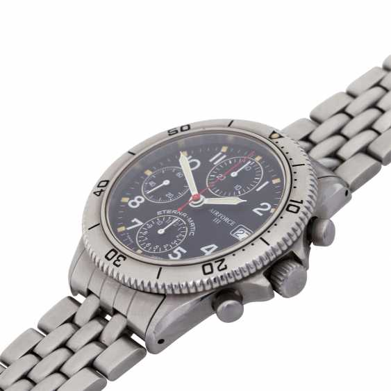 ETERNA Airforce III Pulsometer Chronograph, Ref. 8408-41. - photo 4