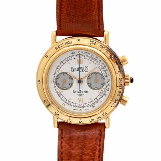 EBERHARD & co. Edition No 25 combination Chronograph. Gold Plated Case. - photo 1