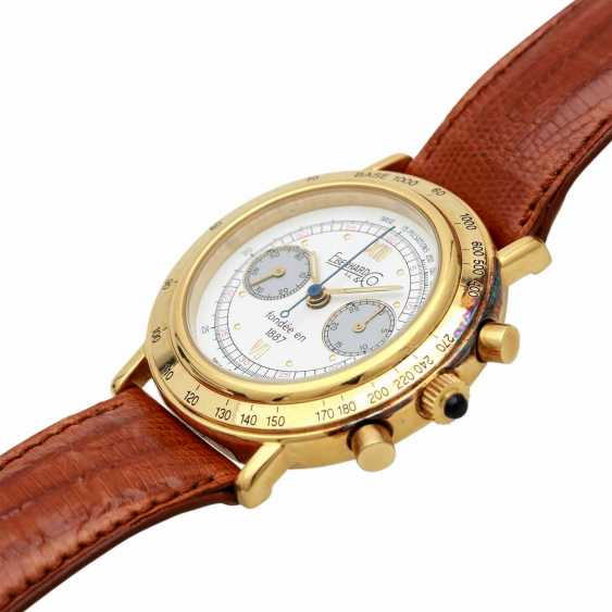 EBERHARD & co. Edition No 25 combination Chronograph. Gold Plated Case. - photo 4