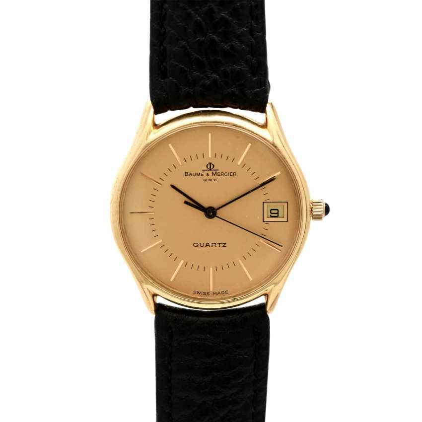 BAUME & MERCIER Classima men's watch, Ref. 15139, CA. 1980/90s. Gold 18K. - photo 1