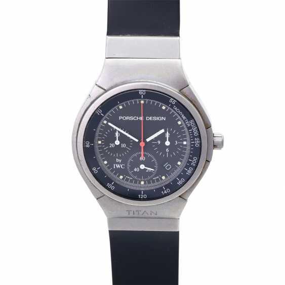 PORSCHE DESIGN by IWC Chronograph men's watch, Ref. 3738, CA. 1990s. Titanium. - photo 1