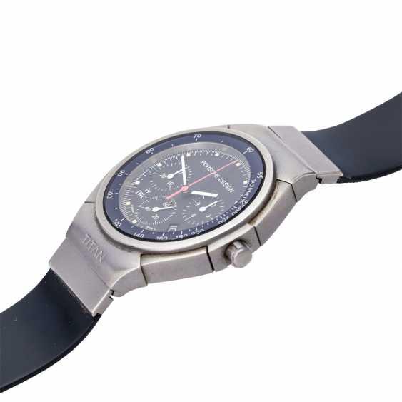 PORSCHE DESIGN by IWC Chronograph men's watch, Ref. 3738, CA. 1990s. Titanium. - photo 4