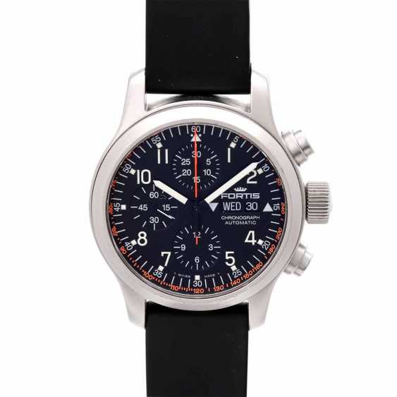 FORTIS B-42 Chronograph men's watch, Ref. 635.22.141. Stainless steel. - photo 1