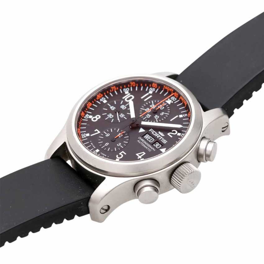 FORTIS B-42 Chronograph men's watch, Ref. 635.22.141. Stainless steel. - photo 4