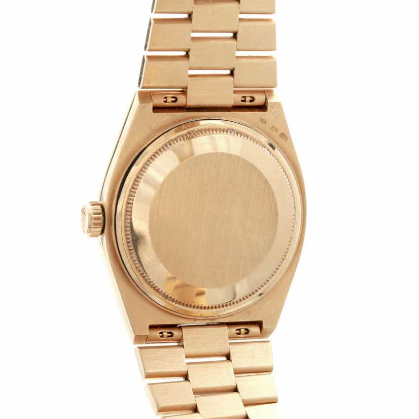 ROLEX oyster quartz Day-Date men's watch, Ref. 19018, approx. 1970/80s. Gold 18K. - photo 2