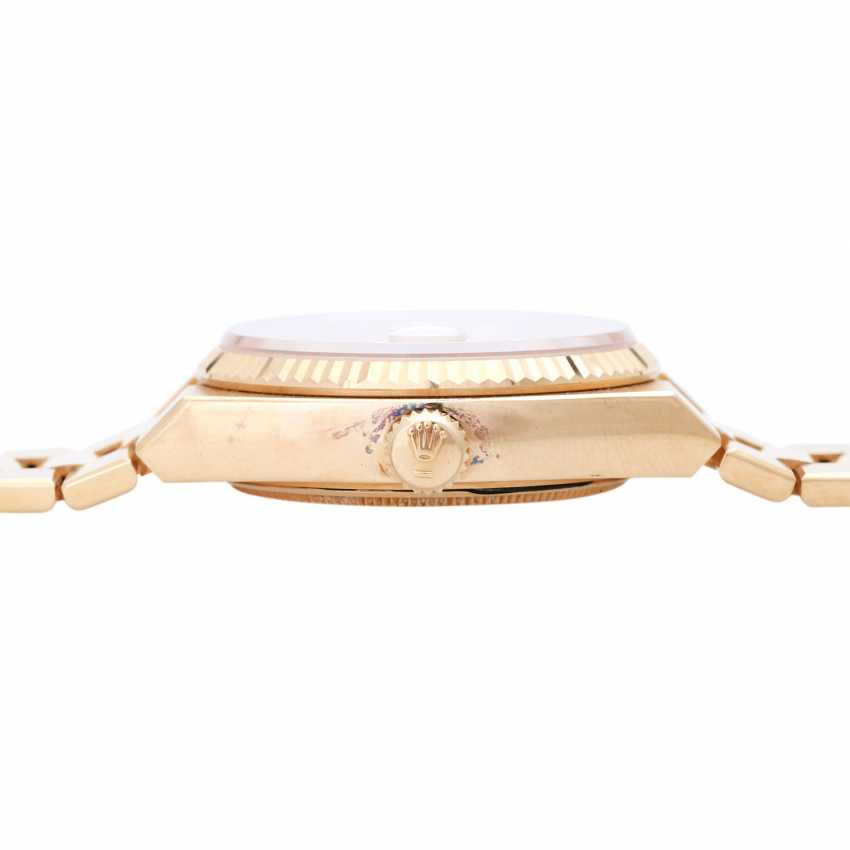 ROLEX oyster quartz Day-Date men's watch, Ref. 19018, approx. 1970/80s. Gold 18K. - photo 3