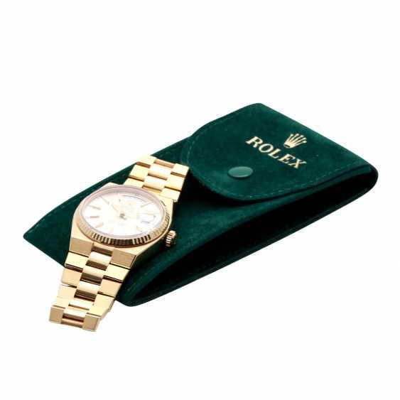 ROLEX oyster quartz Day-Date men's watch, Ref. 19018, approx. 1970/80s. Gold 18K. - photo 6