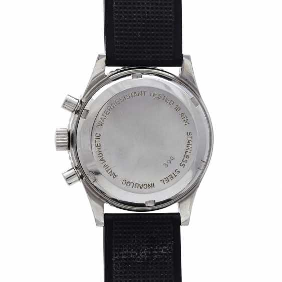 CHRONOGRAPHE SUISSE Vintage men's watch CA. 1960/70s. Stainless steel. - photo 2