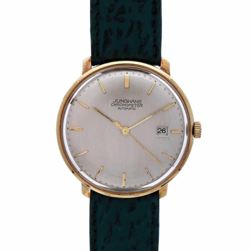 JUNGHANS Vintage watch, CA. 1950/60s. 14K Gold. - photo 1