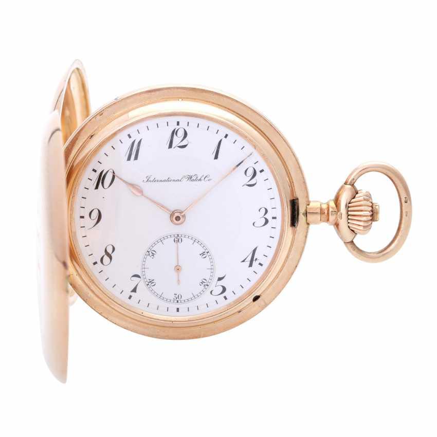 IWC pocket watch, CA. 1910/15, Savonette-case in rose Gold 14K - photo 1