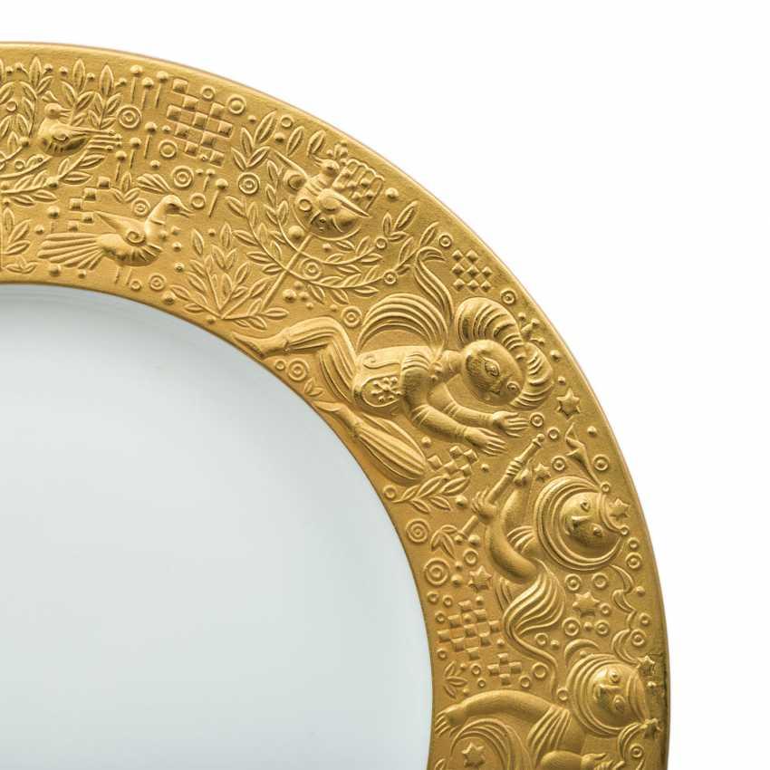 ROSENTHAL Breakfast plate 'magic flute Sarastro', 20. Century - photo 2