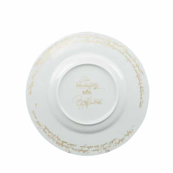 ROSENTHAL Breakfast plate 'magic flute Sarastro', 20. Century - photo 3