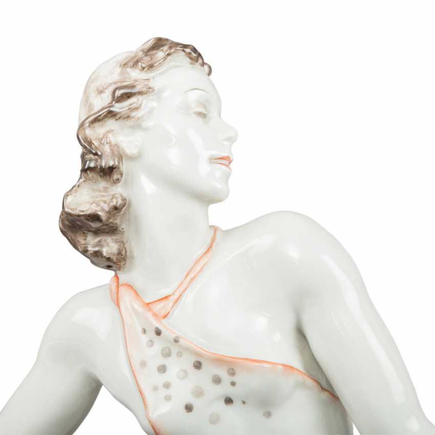ROSENTHAL dancer 'Lieselotte Köster', brand of 1948. - photo 3