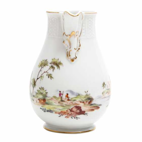 LUDWIGSBURG candle holder and cream jug, 2. Choice (?), 20. Century - photo 6