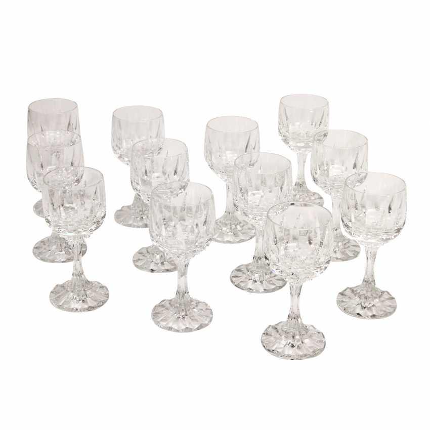 VILLEROY & BOCH 12 wine glasses, 'Arabelle', 20. Century - photo 1