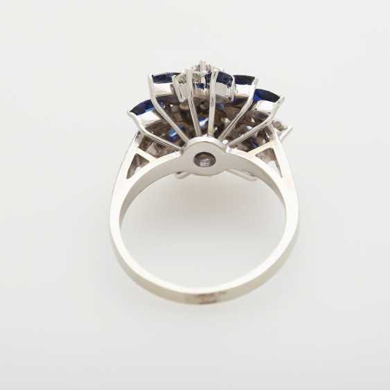 Ladies ring m. sapphires - photo 4