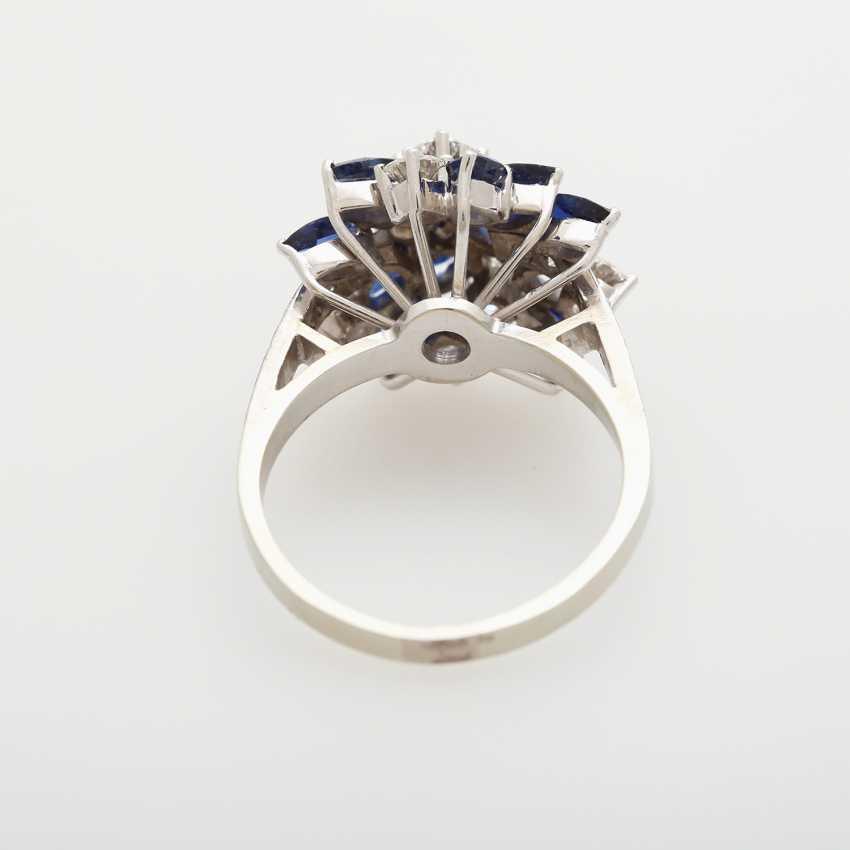 Ladies ring m. sapphires - photo 4