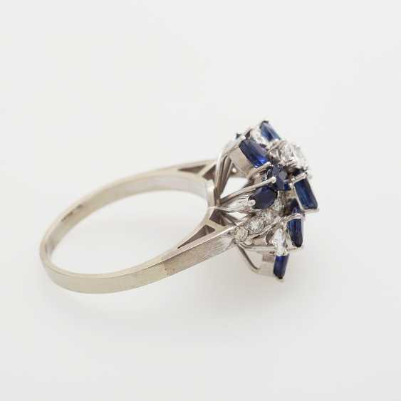 Ladies ring m. sapphires - photo 3