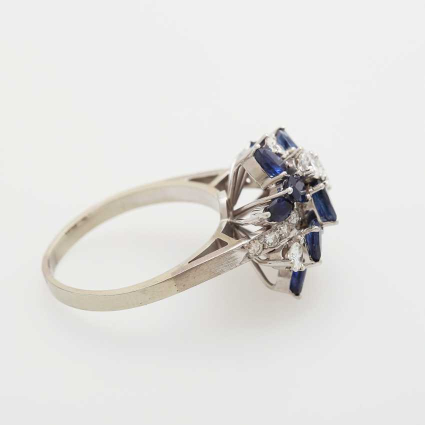 Ladies ring m. sapphires - photo 3