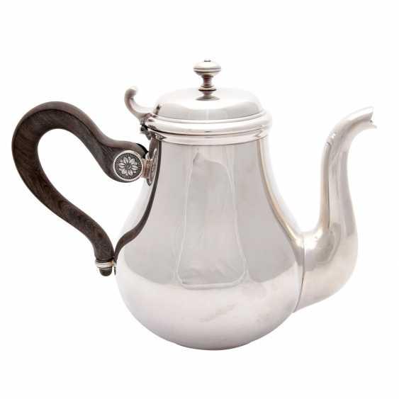 CHRISTOFLE teapot, silver plated, 20. Century - photo 1