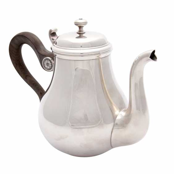 CHRISTOFLE teapot, silver plated, 20. Century - photo 2