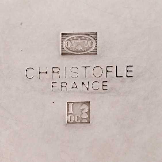 CHRISTOFLE teapot, silver plated, 20. Century - photo 4